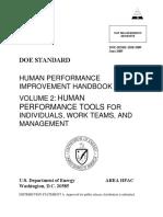 DOE Human Performance Handbook-1028-2009_volume2