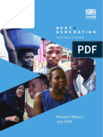 Next Generation Youth Voices in Tanzania - Research Findings Report