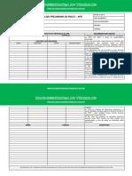 Modelo de APR Movimentação de Cargas - Blog Segurança Do Trabalho