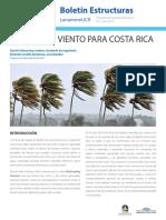 LanammeUCR Código de Viento Para Costa Rica