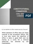 Constitutional Commission Csc