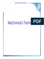 19 MacCormack Technique
