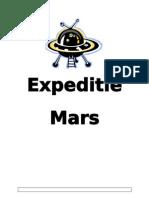 Expeditie Mars werkbundel