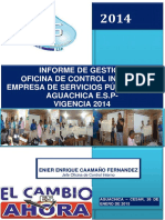 Informe de Gestin Definitivo de La Oficina de Control Interno Vigencia 2014