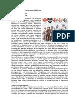 MAÇONARIA - UMA CAVALARIA SIMBÓLICA