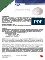 Boletim Técnico Respirador 3M 8822