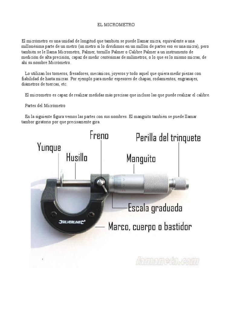 Curso de Micrometro