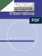 Qualidade de Software Unidade I