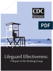 Life guard Report