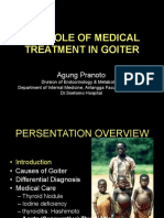 Medical Therapy in Goiter