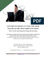 Tony Robbins Phong Van Jay Abraham