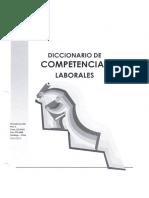 Diccionario de Competencias Laborales.