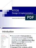 RTOS | Kernel (Operating System) | Device Driver