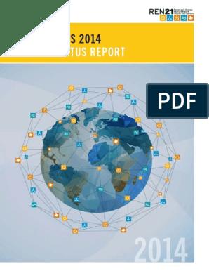 5_GSR2014_full report_low res pdf | Renewable Energy | Photovoltaics