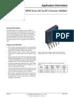 MPM01 MPM04 Application Note