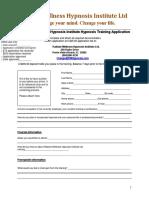rwh student app form