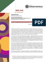 ACSUN Quilombo2016 Documento Base