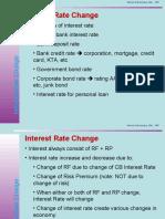 3 Interest Rate Change