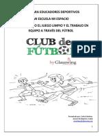 Guía Para Educadores Voluntarios de Fútbol 2015