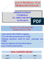 Rail Transport asthebackboneofefficientmultimodalnetwork-PNShukla
