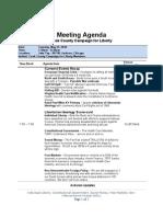 C4L Meeting Agenda -5-25-2010