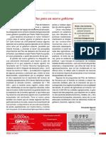 LRA181 Editorial Desafíos para un nuevo gobierno