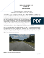 HWY16FH018 Preliminary Report