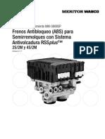 Frenos Antibloqueo ABS
