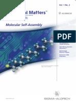 分子自己組織化関連の研究用材料・試薬 Material Matters v1n2 Japanese