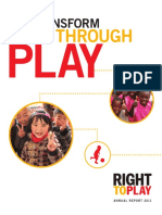 2011 Annual Report Right to Play