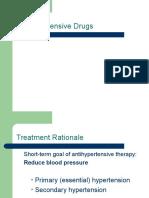 Pharmacy Antihypertensives