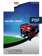 Manual Serviço Gerador Diesel Branco