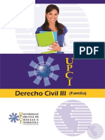 Derecho Civil III Familia