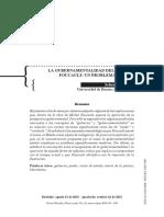 Botticelli - La Gubernamentalización Del Estado en Michel Foucault