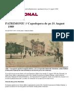 PATRIMONIU Capodopera de pe 31 August 1989.doc