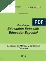Educador Especial 1