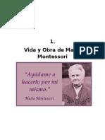 Vida y Obra de María Montessori