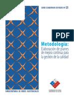 Cuad. 23 Metodología Elab. de Planes de Mejora Continua Para La Gestión de Calidad