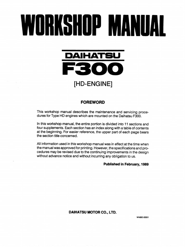 Daihatsu Feroza Wiring Diagram 30 Images L7 Engine Workshop Manual 1509970808 At