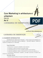 curs de marketing si arhitectura