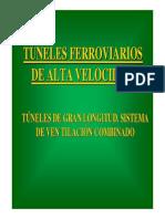 Ventilación Túneles Ferroviarios