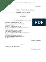Kearney Partners Fund, LLC v. United States, 11th Cir. (2015)