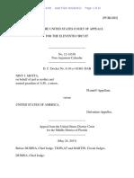 Niny J. Motta v. United States, 11th Cir. (2013)