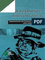 Perú IA OIT169 2007 Ayacucho
