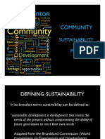 About the Hinton and Area Community Sustainability Plan