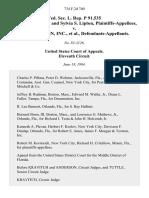 Fed. Sec. L. Rep. P 91,535 David A. Lipton and Sylvia S. Lipton v. Documation, Inc., 734 F.2d 740, 11th Cir. (1984)