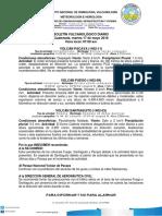 Boletin Vulcanologico Diario.