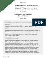 United States v. Joseph P. Bagwell, 30 F.3d 1454, 11th Cir. (1994)