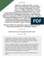 Telecom Technical Svcs. v. Rolm Company, 388 F.3d 820, 11th Cir. (2004)
