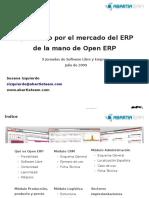 Apostando por el Mercado del ERP de la mano de Open ERP